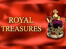 В казино автоматы Royal Treasures